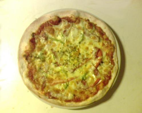 pizza ala lantera lezat&cripsy....hot.......